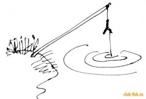 Жерлица-рогулька -  пассивная рыбалка для новичка